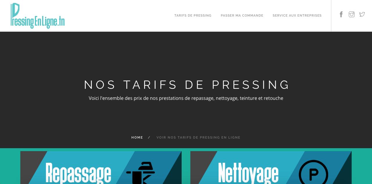 les tarifs de pressing en ligne domicile en tunisie pressingenlignetn. Black Bedroom Furniture Sets. Home Design Ideas